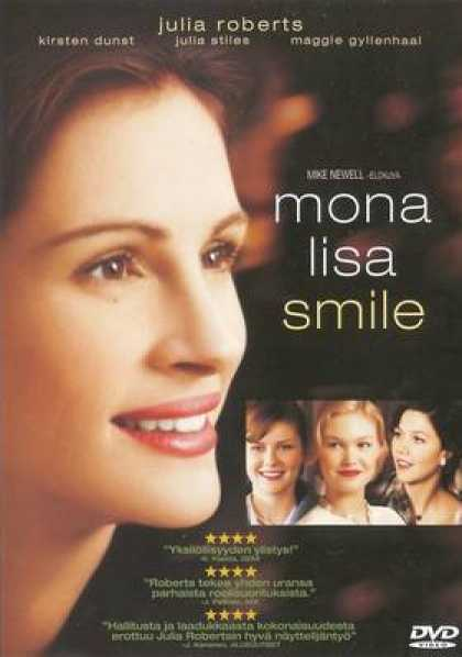 Finnish DVDs - Mona Lisa Smile