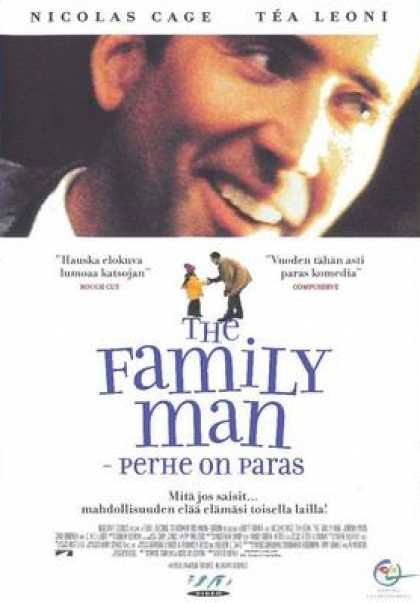Finnish DVDs - The Family Man
