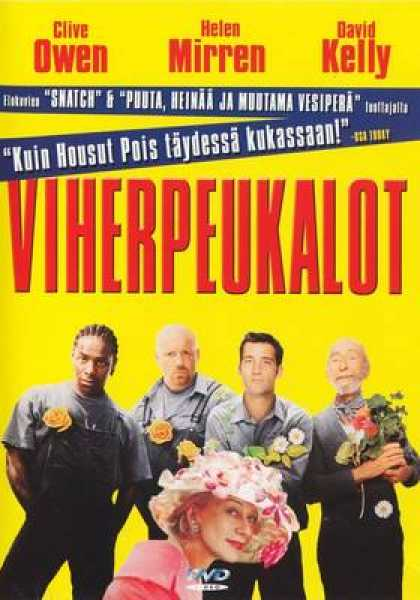Finnish DVDs - Greenfingers