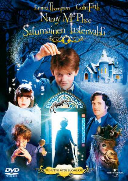 Finnish DVDs - Nanny McPhee