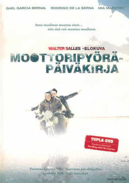 Finnish DVDs - Travelling With Che Guevara