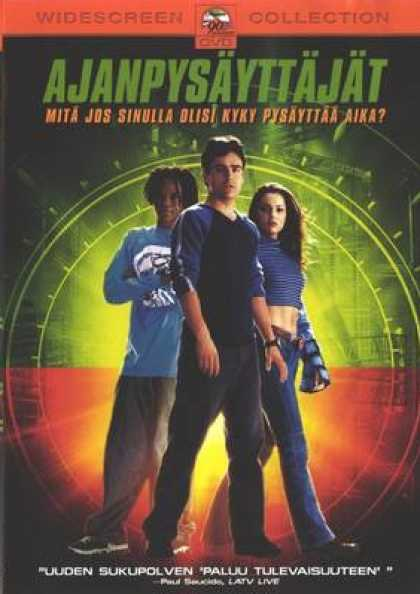 Finnish DVDs - Clockstoppers