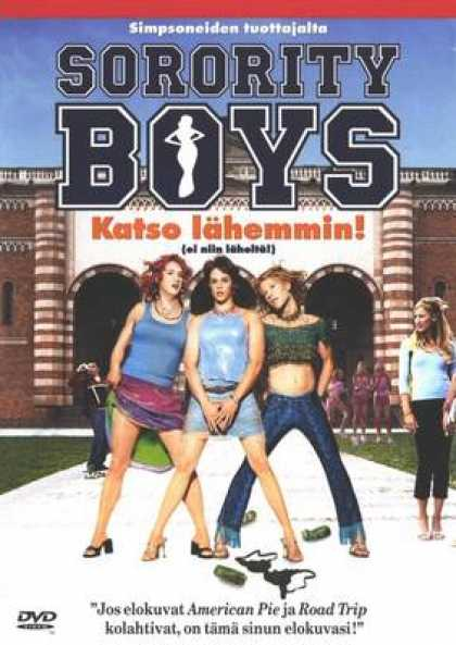 Finnish DVDs - Sorority Boys