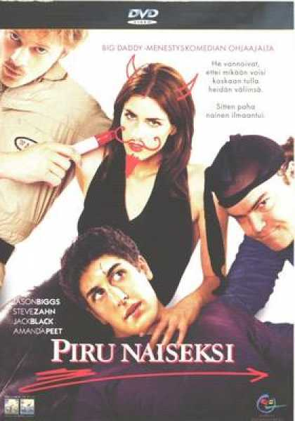 Finnish DVDs - Evil Woman