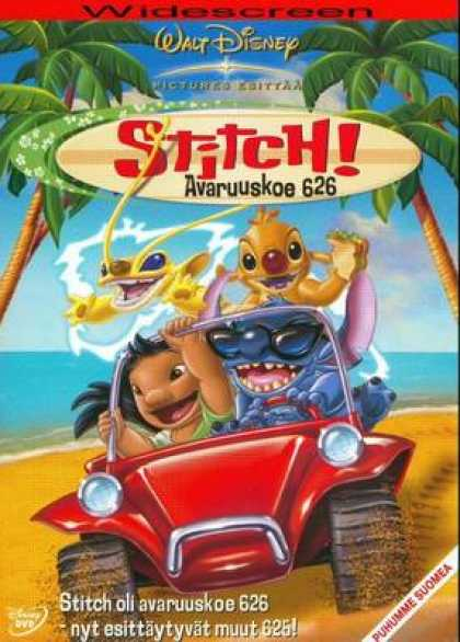 Finnish DVDs - Stitch The Movie