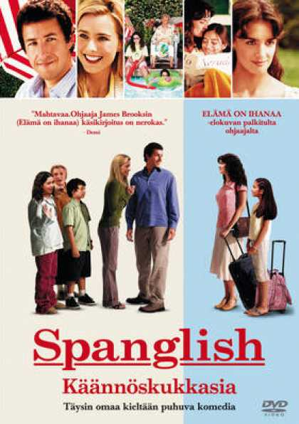 Finnish DVDs - Spanglish