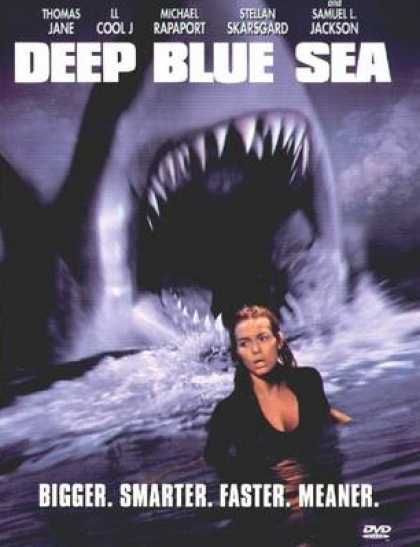Finnish DVDs - Deep Blue Sea