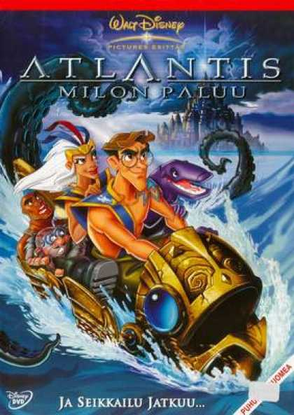 Finnish DVDs - Atlantis: Milo's Return