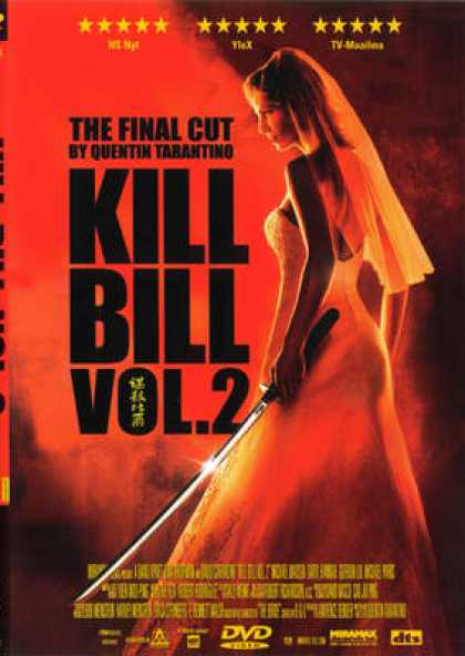 Finnish DVDs - Kill Bill 2