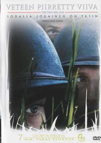 Finnish DVDs - The Thin Red Line