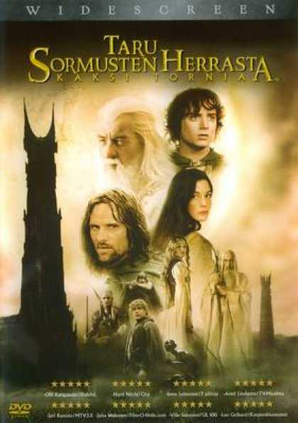 Finnish DVDs - The Lord Of The Rings The Two Towers
