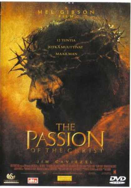 Finnish DVDs - The Passion Of The Christ