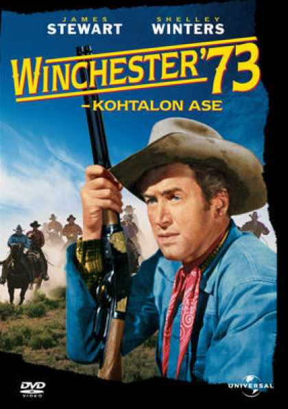 Finnish DVDs - Winchester '73