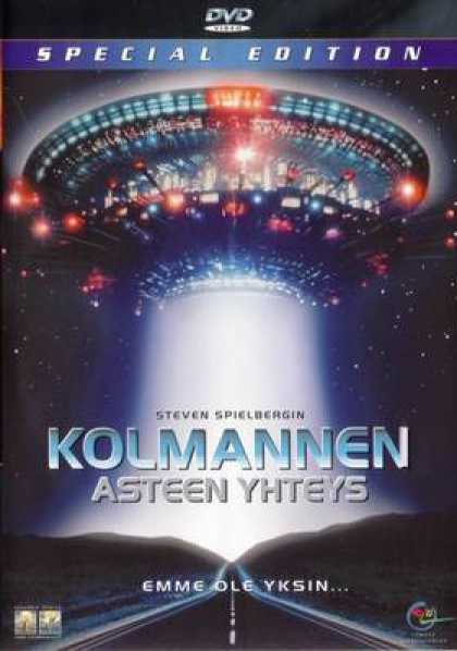 Finnish DVDs - Close Encounters Of The Third Kind