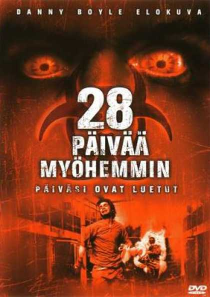 Finnish DVDs - 28 Days Later