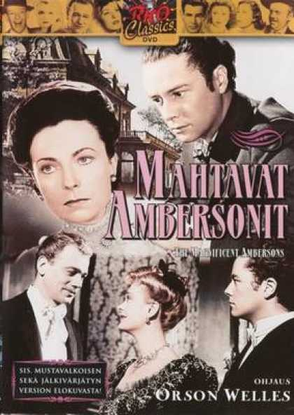 Finnish DVDs - The Magnificen Ambersons