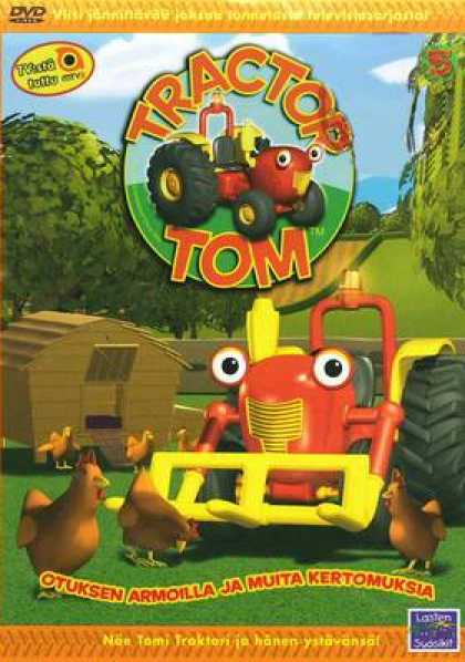 Finnish DVDs - Tractor Tom 5