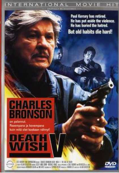 Finnish DVDs - Death Wish 5