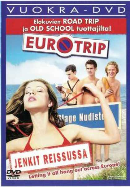 Finnish DVDs - Euro Trip