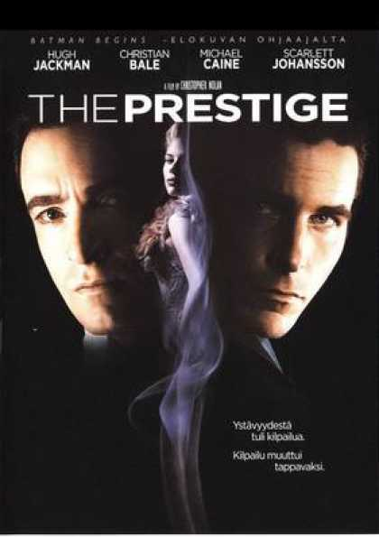 Finnish DVDs - The Prestige