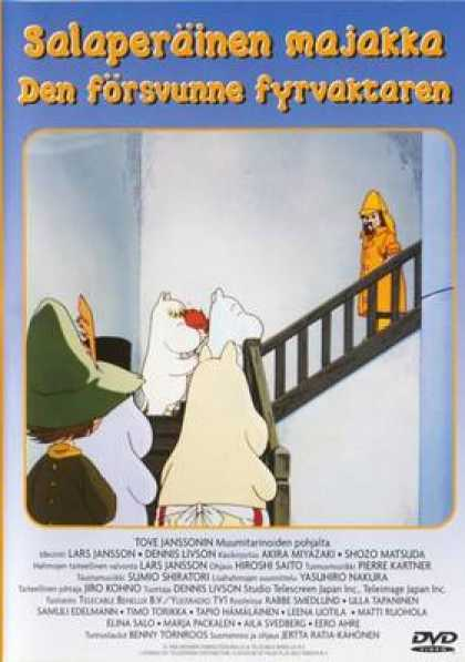 Finnish DVDs - Tales From Moominvalley Lighthouse Keeper