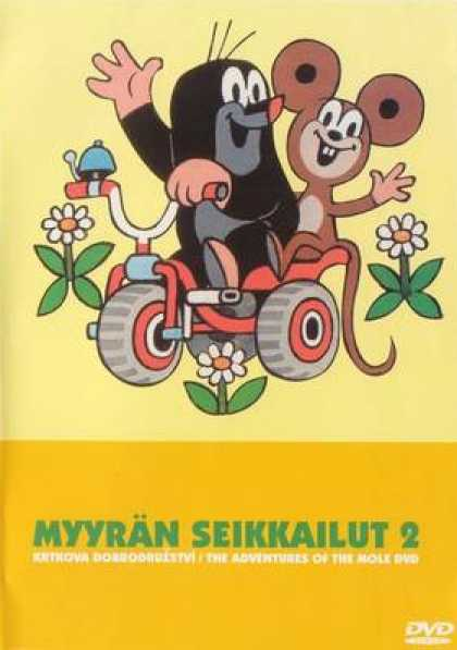 Finnish DVDs - The Adventures Of The Mole Volume 2