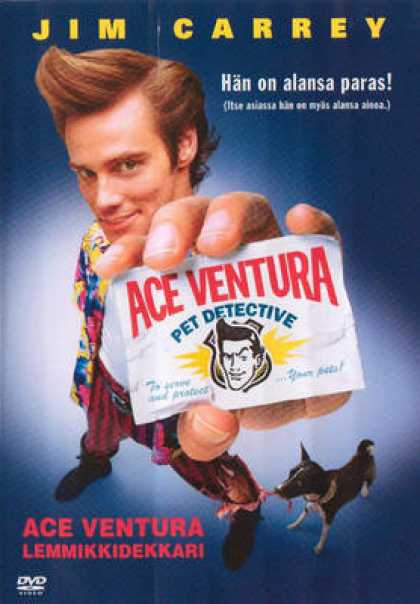 Finnish DVDs - Ace Ventura Pet Detective
