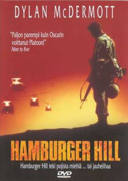 Finnish DVDs - Hamburger Hill