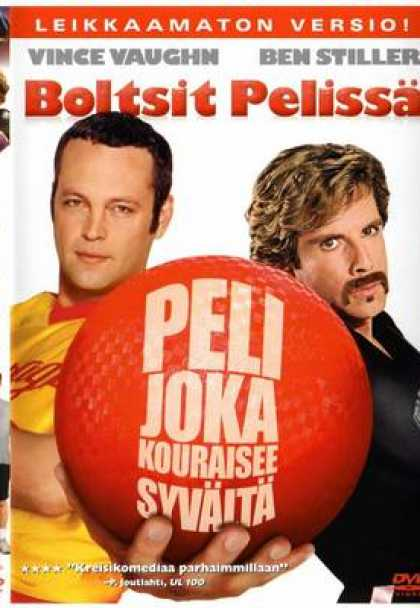 Finnish DVDs - Dodge Ball - Boltsit Pelissä