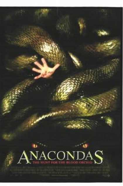 Finnish DVDs - Anacondas The Hunt For The Blood Orchid