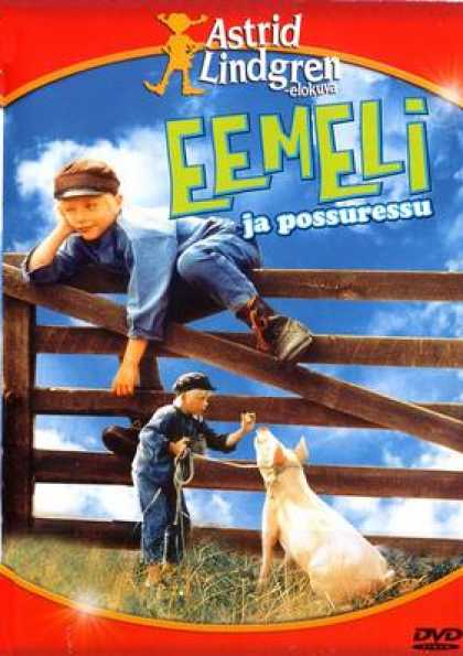 Finnish DVDs - Emel And The Poor Pig