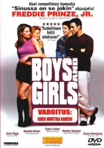 Finnish DVDs - Boys And Girls