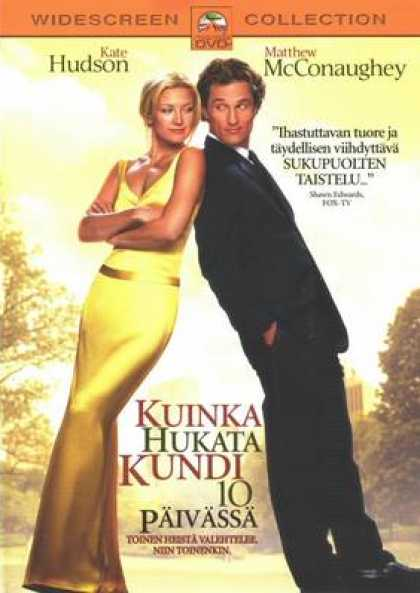 Finnish DVDs - How To Lose A Guy In 10 Days