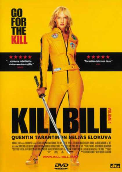 Finnish DVDs - Kill Bill 1
