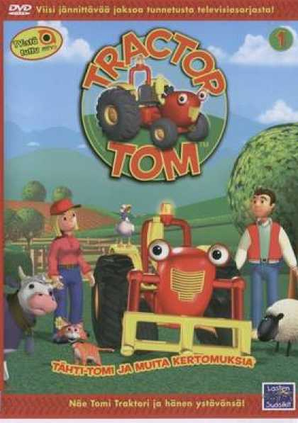 Finnish DVDs - Tractor Tom 1