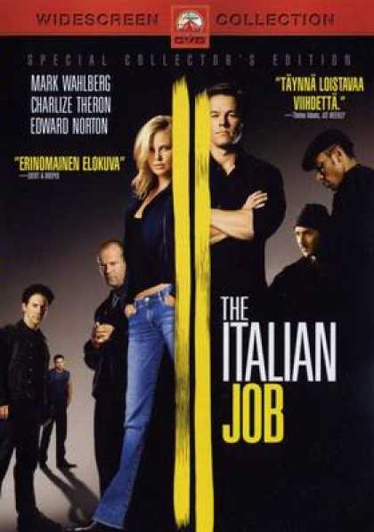 Finnish DVDs - The Italian Job