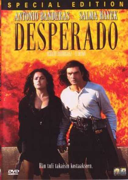 Finnish DVDs - Desperado