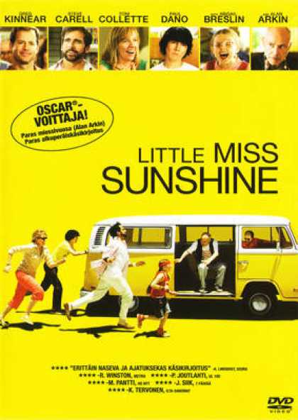 Finnish DVDs - Little Miss Sunshine