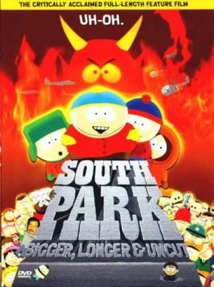 Finnish DVDs - South Park Bigger, Longer & Uncut