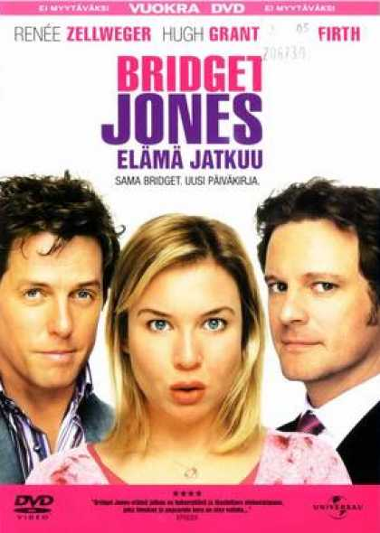 Finnish DVDs - Bridget Jones The Edge Of Reason