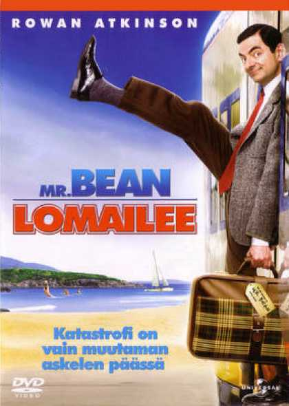 Finnish DVDs - Mr. Bean's Holiday