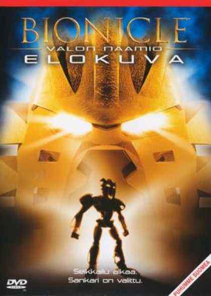 Finnish DVDs - Bionicle: Mask Of Light