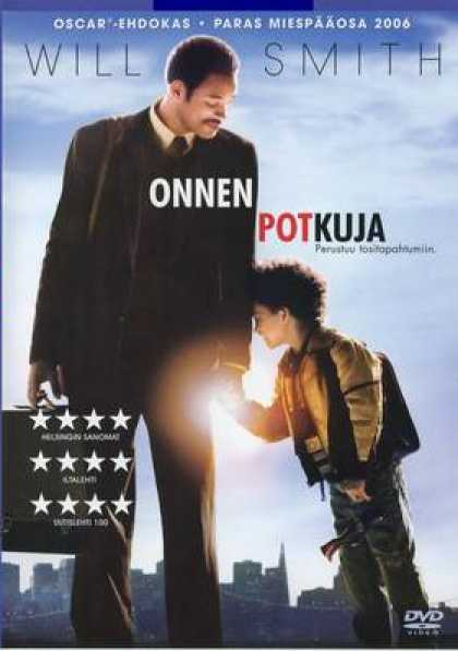 Finnish DVDs - The Pursuit Of Happyness