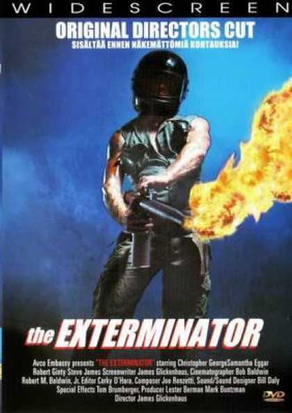 Finnish DVDs - The Exterminator