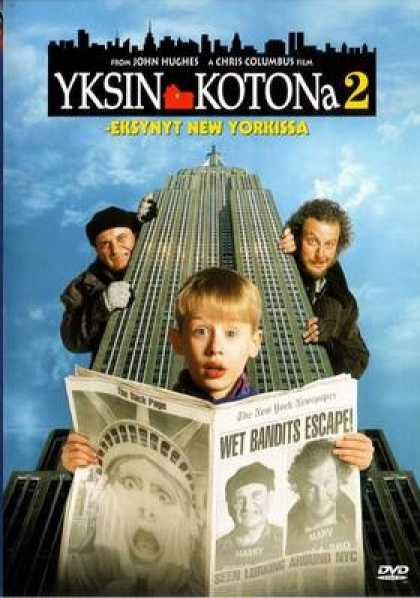 Finnish DVDs - Home Alone 2