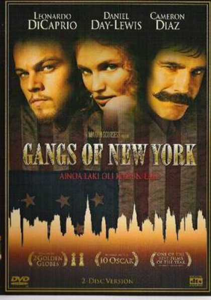 Finnish DVDs - Gangs Of New York