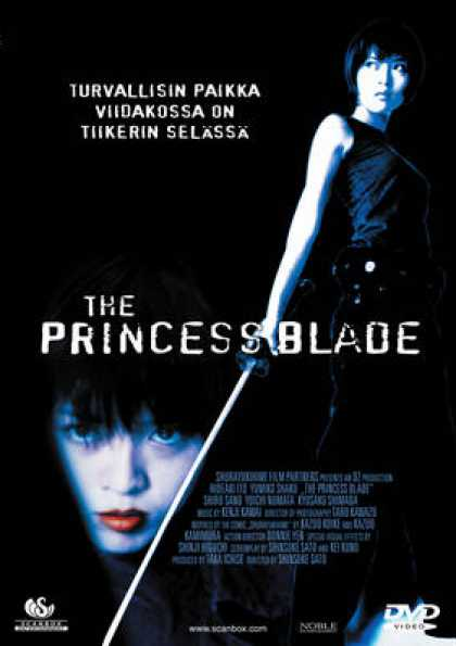 Finnish DVDs - The Princess Blade