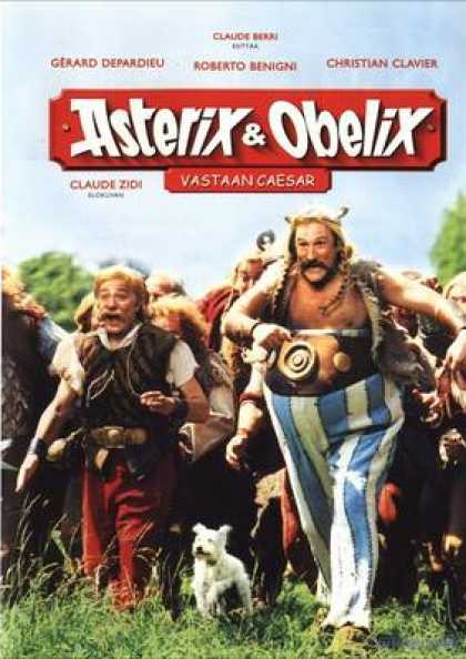 Finnish DVDs - Asterix And Obelix Against Ceasar