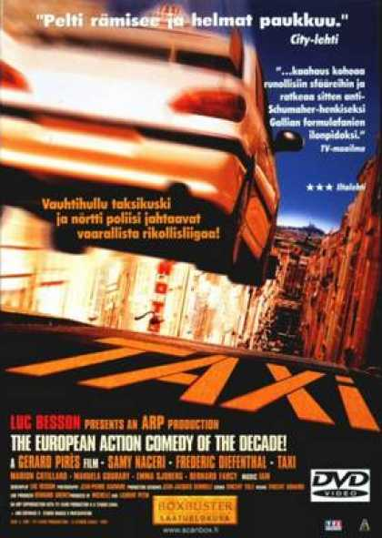 Finnish DVDs - Taxi