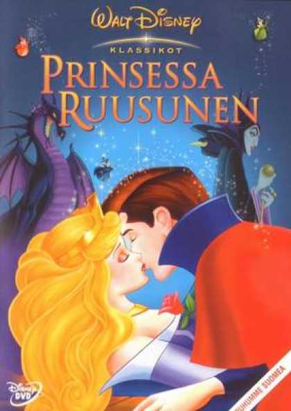 Finnish DVDs - Walt Disney's Sleeping Beauty